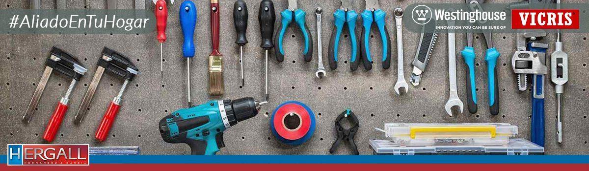 Equipa tu hogar con estas herramientas